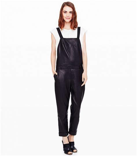 leather overalls  women  fashiongumcom