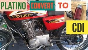 Honda Tmx 155 Contact Point Or Platino Convertion To Cdi