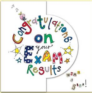 Congratulations On Your Exam Results