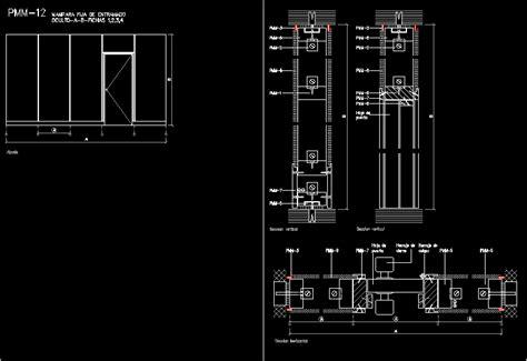 aluminium screens details  dwg detail  autocad