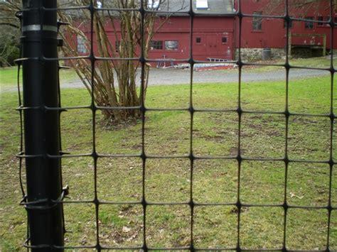 polypropylene riverside fence