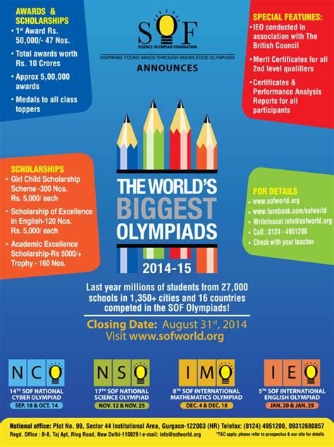 Olympiads  Kids Contests