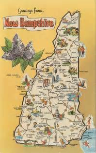 New Hampshire State Map