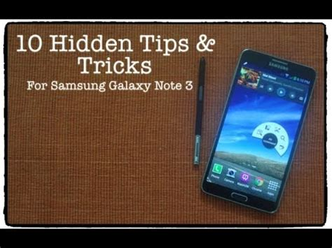 10 tips and tricks for samsung galaxy note 3