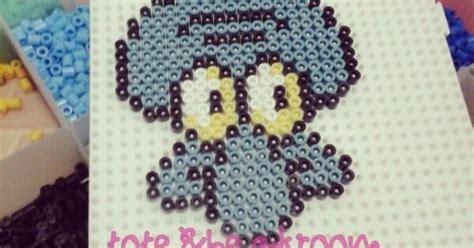 Squidward Spongebob Hama Beads By Totebeadsroom