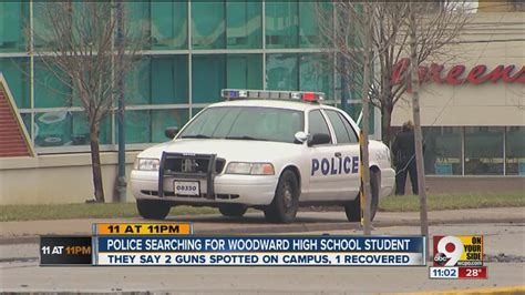 Two guns cause scare, lockdown at Woodward Technical High ...