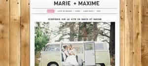 site du mariage un site web personnalisé pour votre mariage le du marié