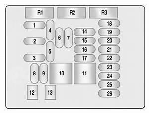 Buick Lacrosse  2010   U2013 Fuse Box Diagram