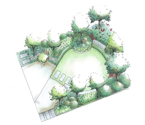 1000 ideas about garden design plans on small