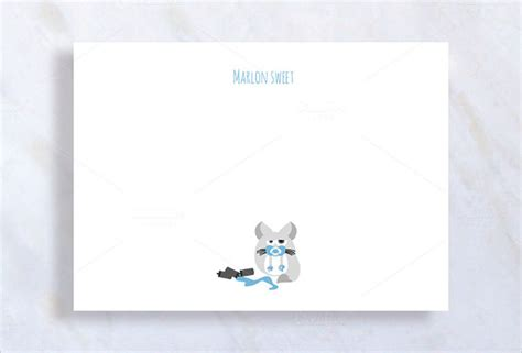 baby shower   notes sample templates