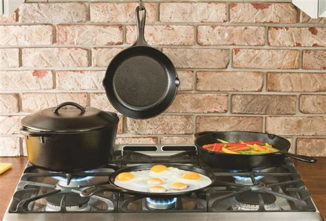 iron cast cookware lodge pieces