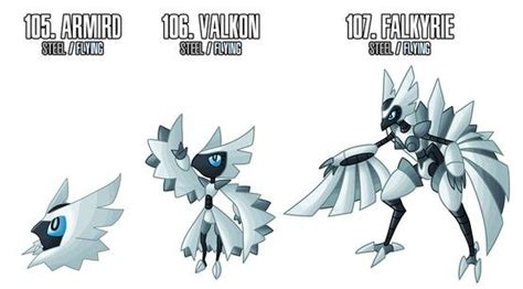 female  dark steel types pokemon pokemon