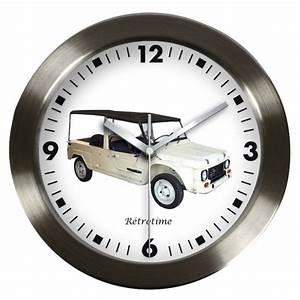 Horloge Murale Blanche : pendule voiture de collection mhari citroen pendule ~ Teatrodelosmanantiales.com Idées de Décoration