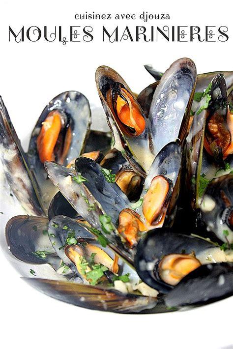 moules marinieres  la creme sans vin blanc