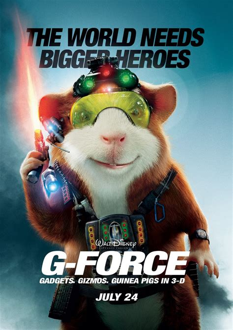 G-Force Theatrical Review, G-Force (2009), Movie Review ...