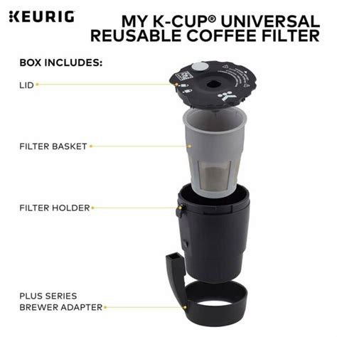 That being said, our advice would be to go for the regular replacement, as it's a big health issue. Replacement Reusable K-cup Coffee Filter For Keurig K10 MINI Plus / K15 Machines for sale online ...
