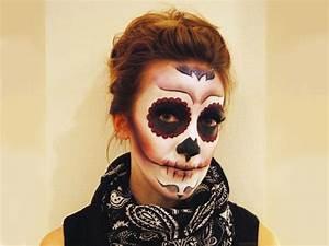 Mexikanische Totenmaske Schminkanleitung Bilder Jolie