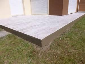 carrelage exterieur carreleur morbihan paulay With photo carrelage terrasse exterieur