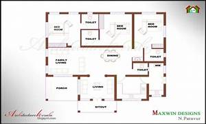 Marvelous one bedroom house plans kerala house plans 2017 for One bedroom home design ppics