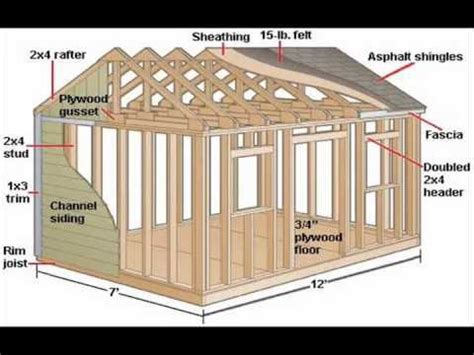 how to build a shed download plans ted s woodworking