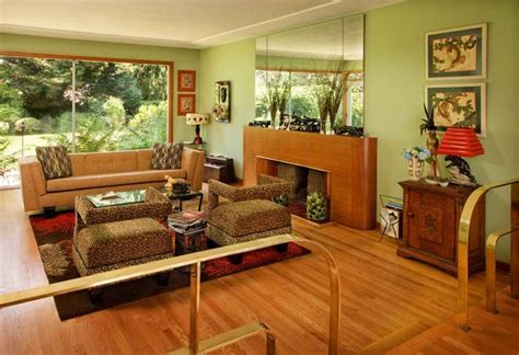intact mid century ranch house restoration design