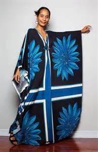 Kimono Maxi Dress Long Sleeves