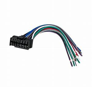 Wire Harness For Jvc Car Stereo Radio Plug 16 Pin Kd R210