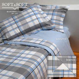 cardiff completo lenzuola letto singolo  flanella scozzese