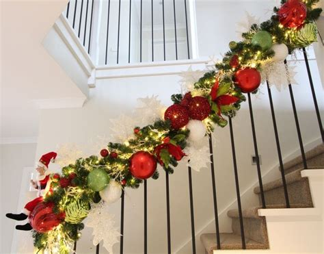 17 best ideas about christmas staircase on pinterest