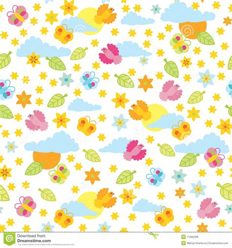 Summer Pattern Royalty Free Stock Photos  Image 11692208