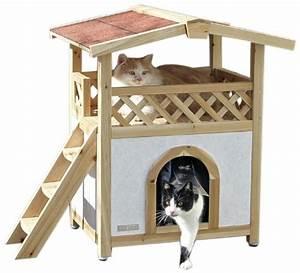 Maison Pour Chat Extérieur : casa para gatos tyrol alpin tienda de gatos ~ Premium-room.com Idées de Décoration