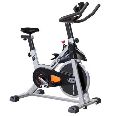 YOSUDA Adjustable Exercise Bike Indoor Cycling Bike ...