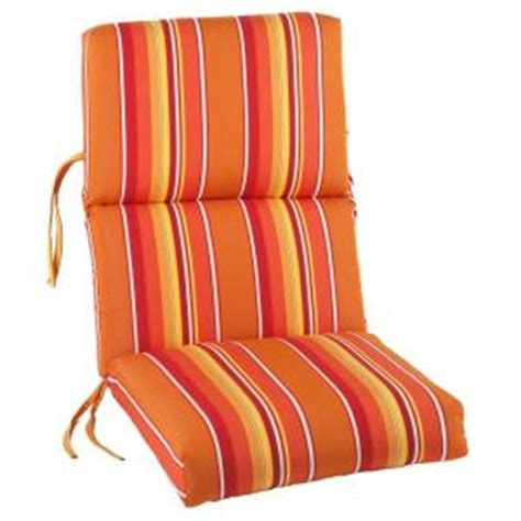high back patio chair cushions home depot sunbrella dolce mango outdoor dining chair cushion