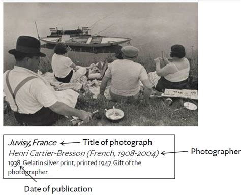 How To Cite A Photograph In Apa  Easybib Blog