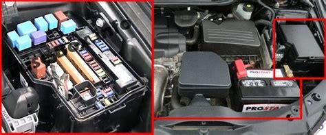 2010 Toyotum Venza Fuse Box by Toyota Venza 2009 2017