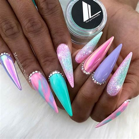 bright color nail designs fabulous neon colors ombre nails to try