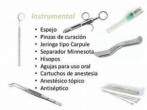 Instrumental para anestesiar