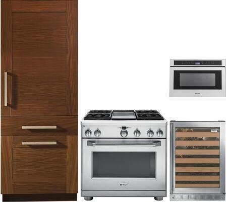 monogram  piece kitchen appliances package
