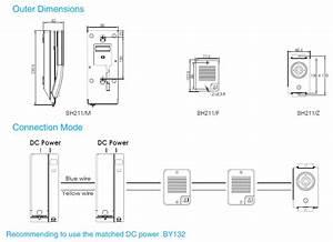 2 Wire Intercom System  Elevator Phone  Lift Parts  Bh211