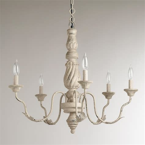 Vintage Chandelier by Gray Vintage Chandelier World Market