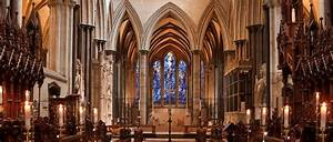 Salisbury Cathedral, Built in The Style of Early English ...