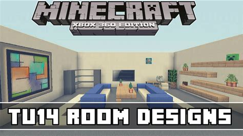 minecraft xbox 360 living room designs minecraft xbox 360 tu14 living room designs