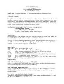 welding inspector resume in singapore 100 waitress description resume resume sle