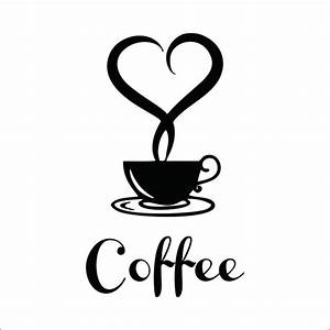 Coffee shop Restaurant wall decor decals home decorations