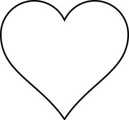 Heart Shapes Outlines Heart outline clip art