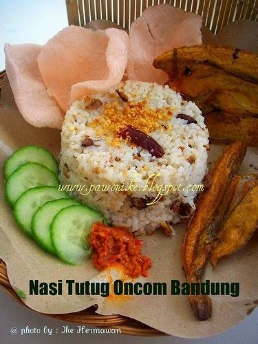 pawonike this is my kitchen nasi tutug oncom bandung