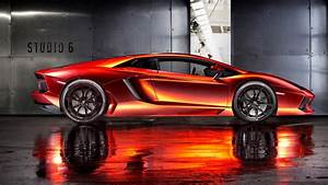 2013 Lamborghini Aventador By Print Tech 3 Wallpaper HD