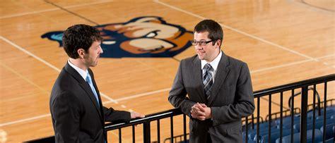 sport management bs bob jones university