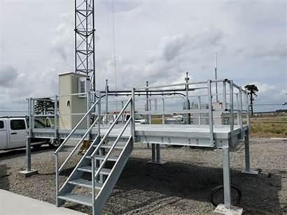 Equipment Platform Platforms Industrial Kits Prefabricated Custom