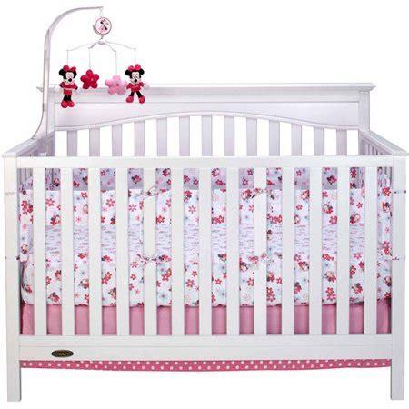 minnie mouse crib set walmart disney disney sweet minnie crib liner walmart